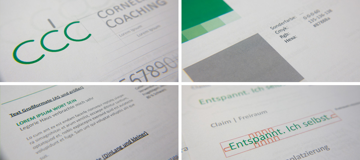 coach branding corporate design identity